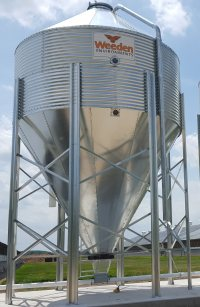 Val-co Corrugated Feed Bins